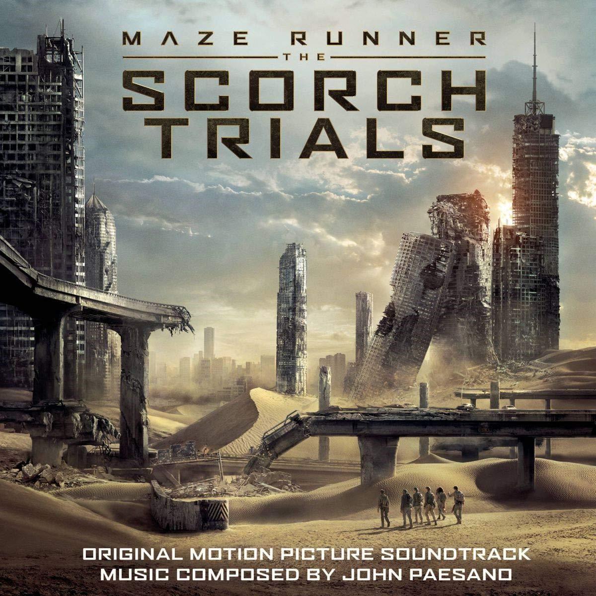 bande originale soundtrack ost score labyrinthe terre brulee maze runner scorch trials disney fox