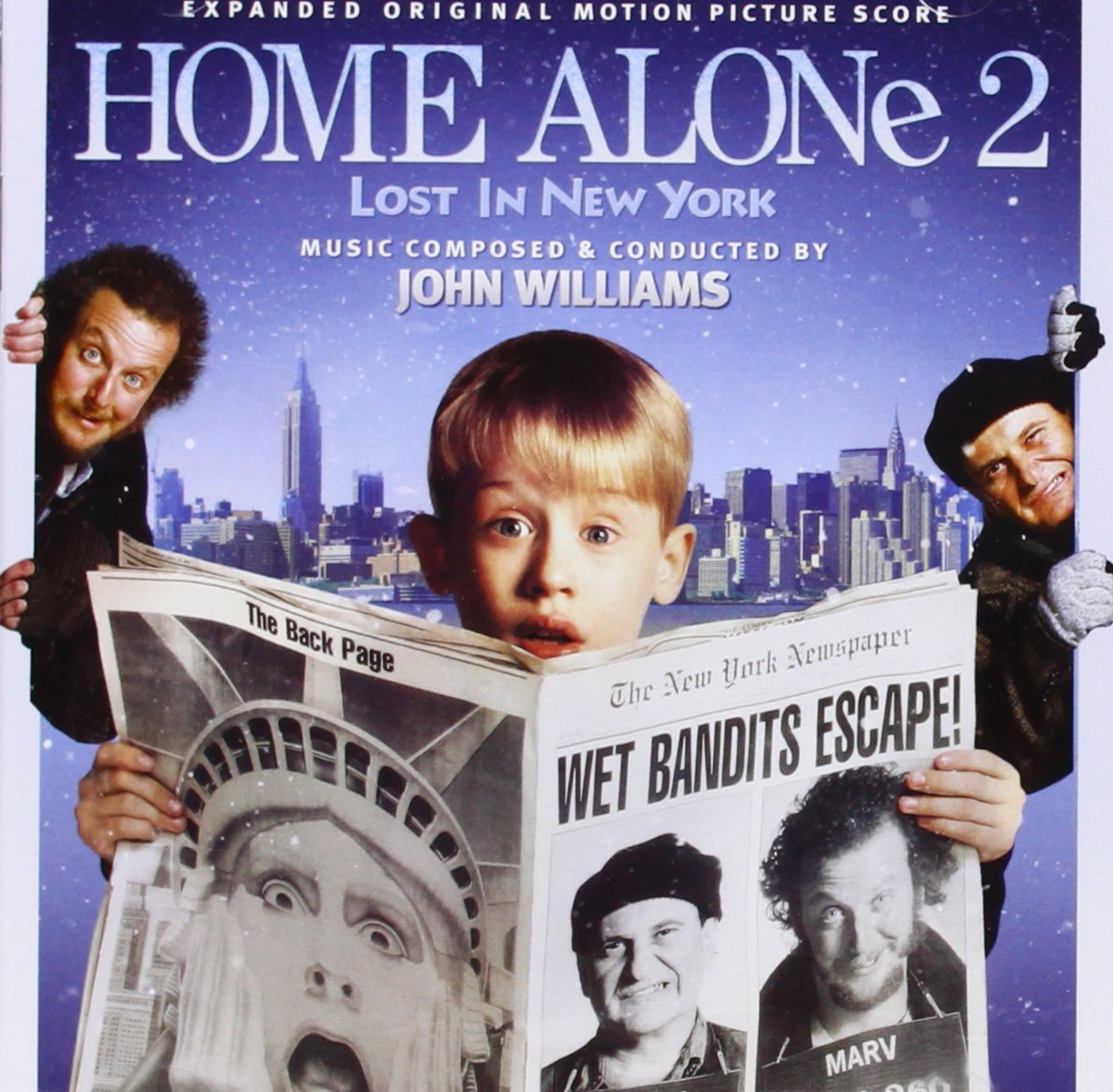 bande originale soundtrack ost score maman raté encore avion home alone 2 lost new york disney fox