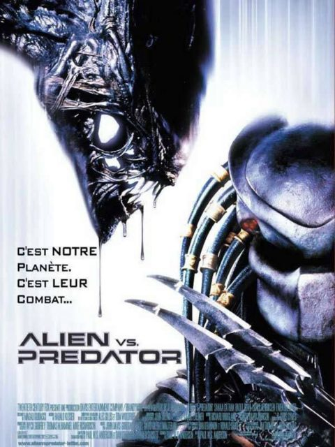 affiche poster alien vs predator disney fox