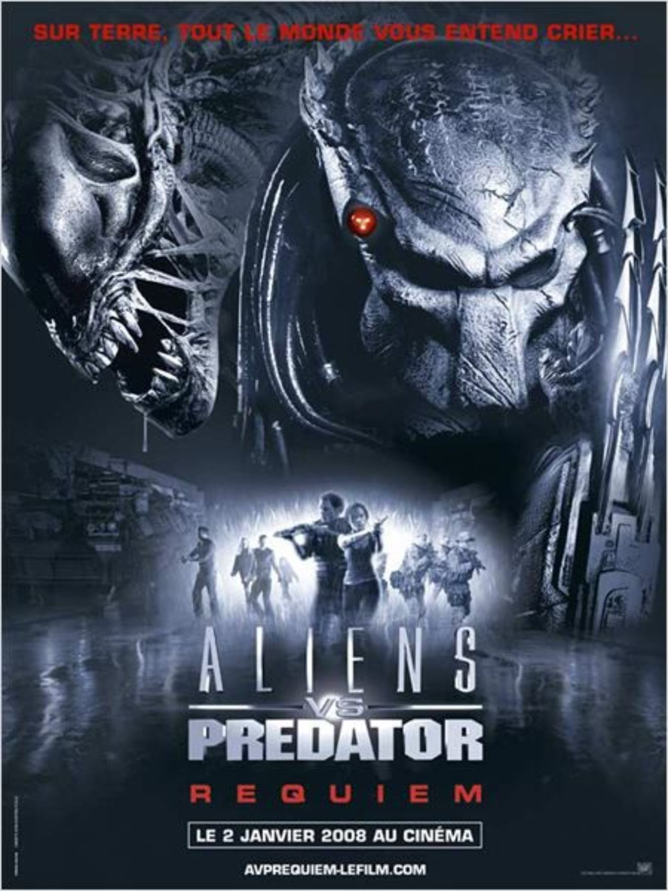 affiche poster alien vs predator requiem disney fox
