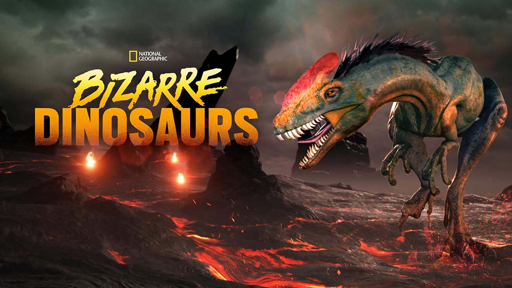 affiche poster bizarre dinos dinosaurs disney nat geo