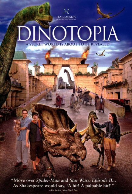 affiche poster dinotopia abc disney