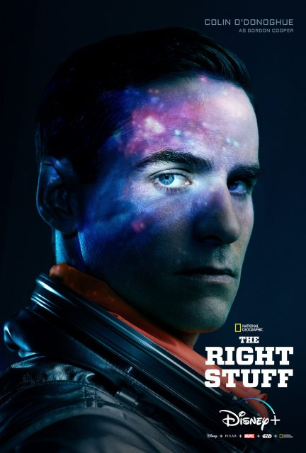 affiche poster étoffe héros right stuff disney nat geo