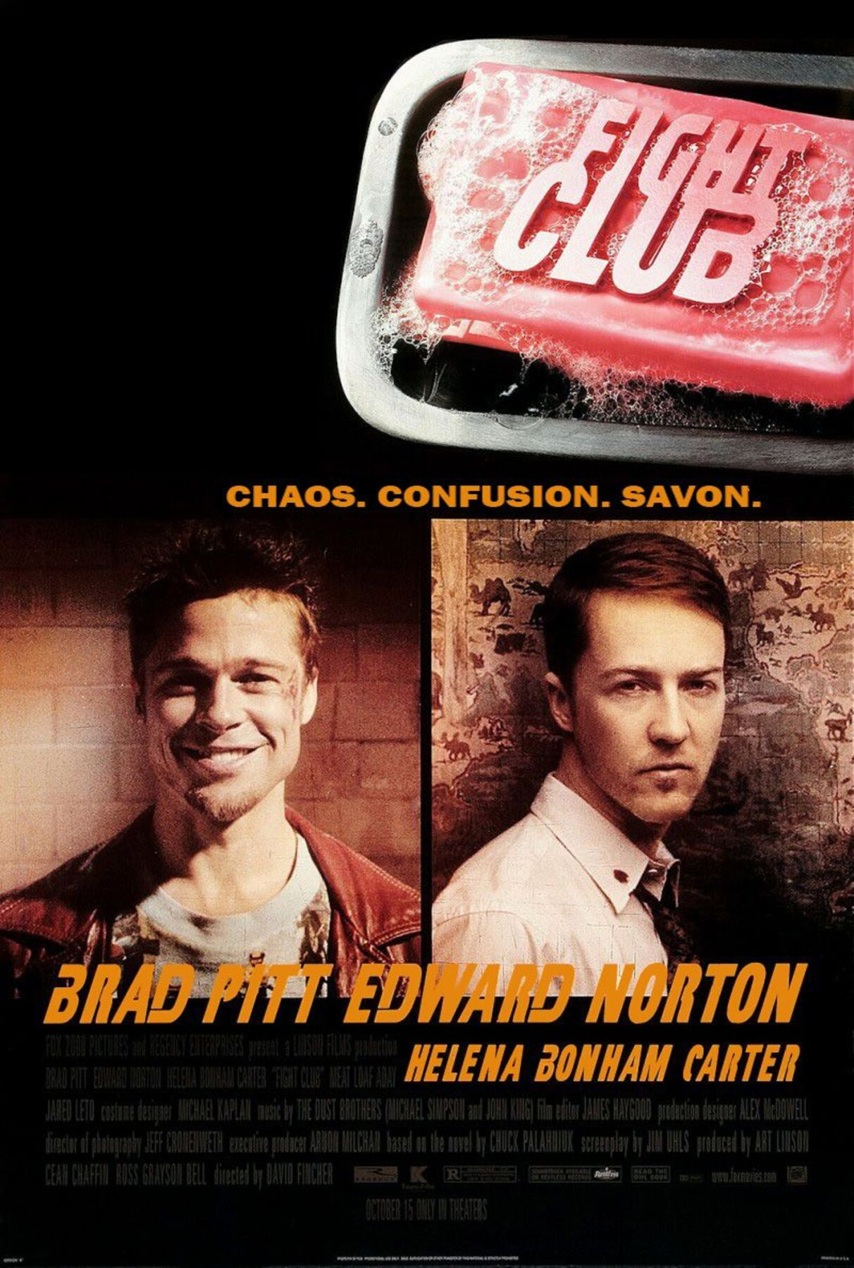affiche poster fight club disney fox