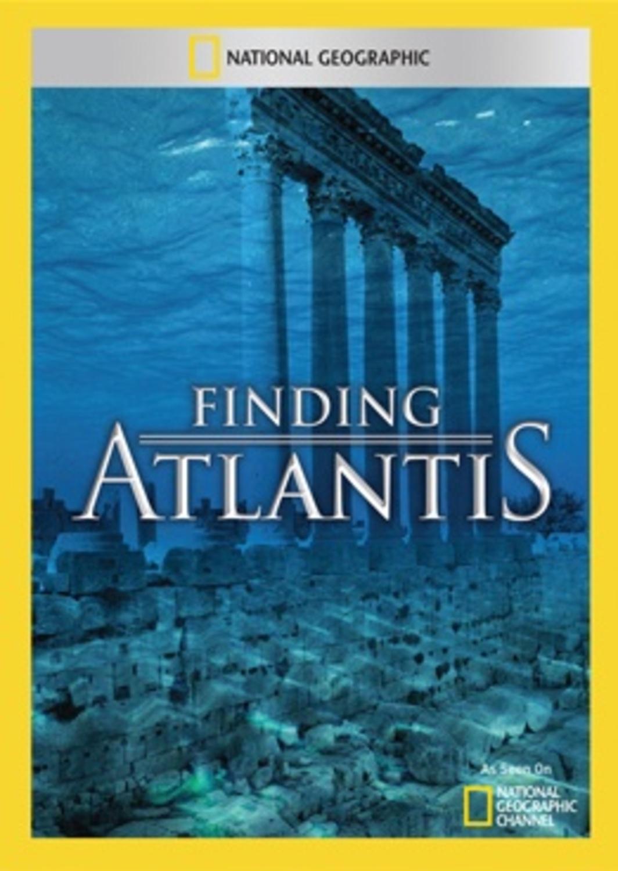 affiche poster finding atlantis nat geo disney