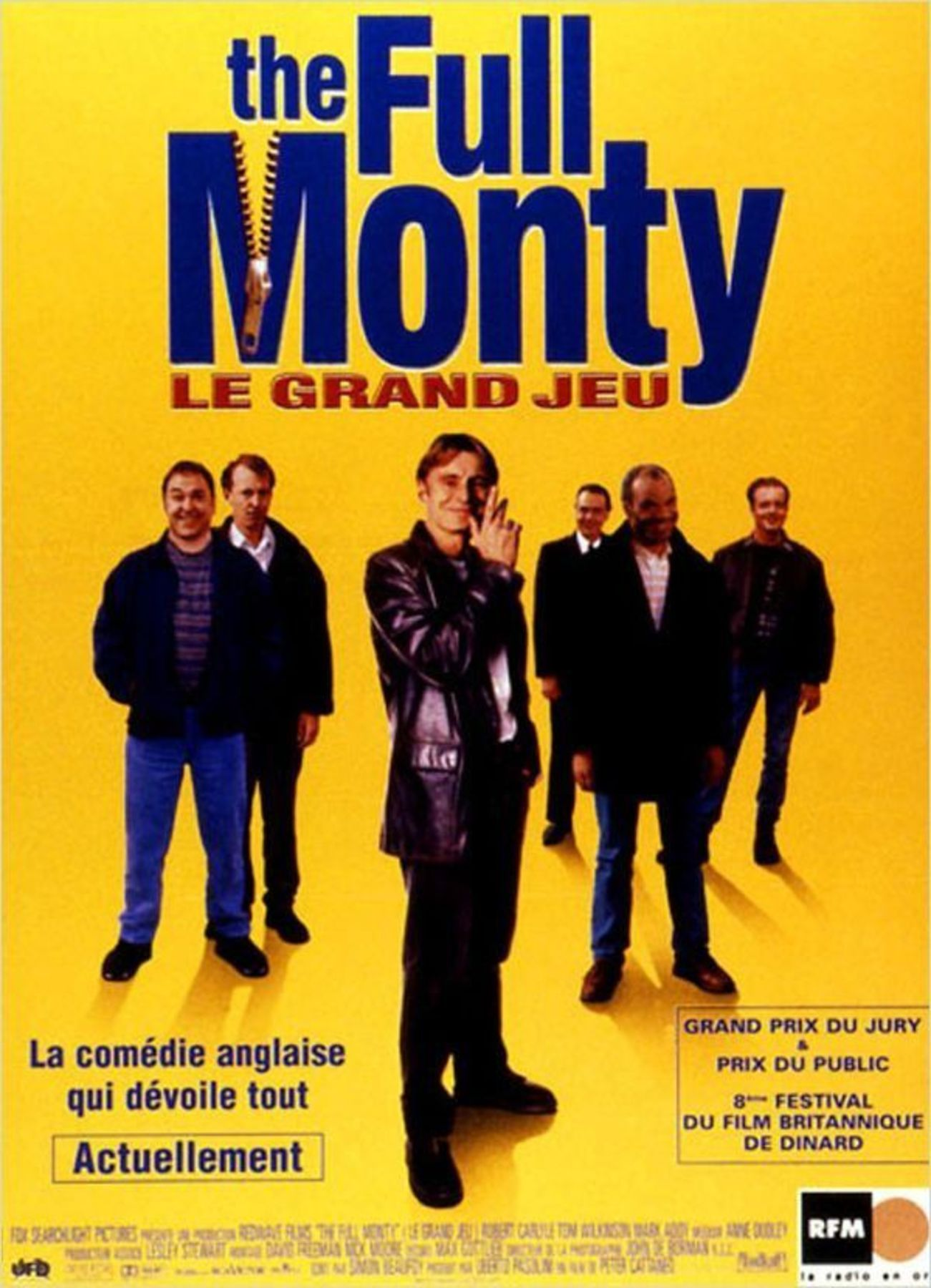 affiche poster full monty disney fox