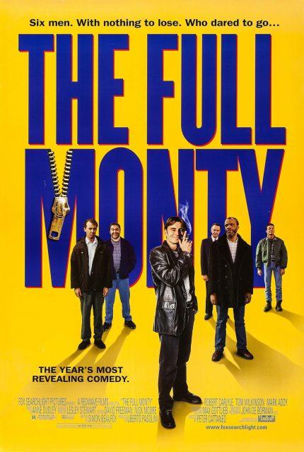 affiche poster full monty disney fox