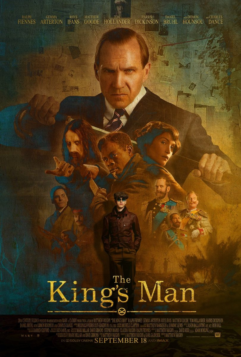 affiche poster king man première mission disney fox