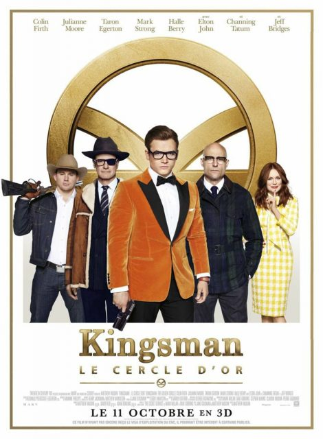 affiche poster kingsman cercle or golden circle disney fox