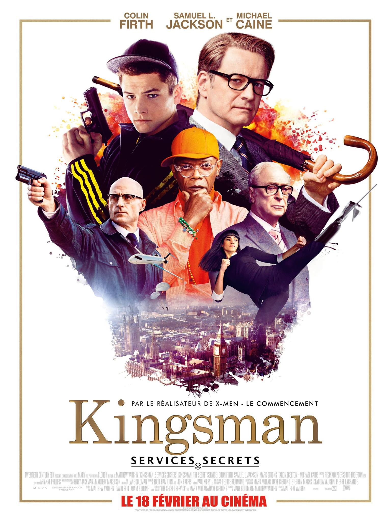 affiche poster kingsman services secrets disney fox