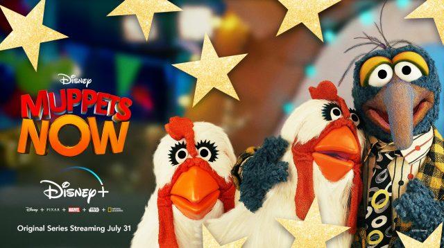 affiche poster nouveau muppet show now disney
