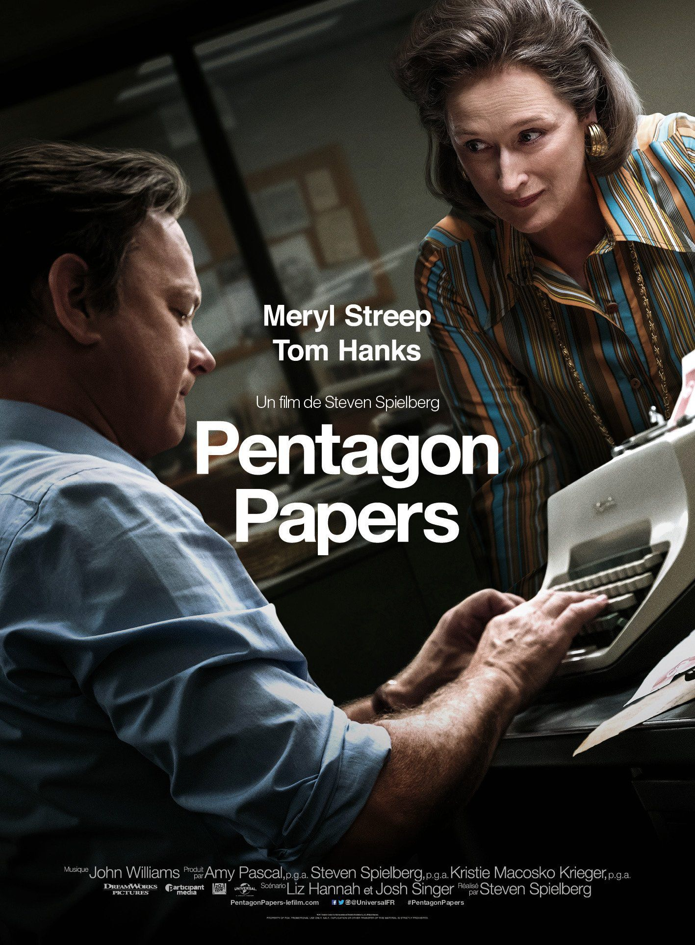 affiche poster pentagon papers post disney fox