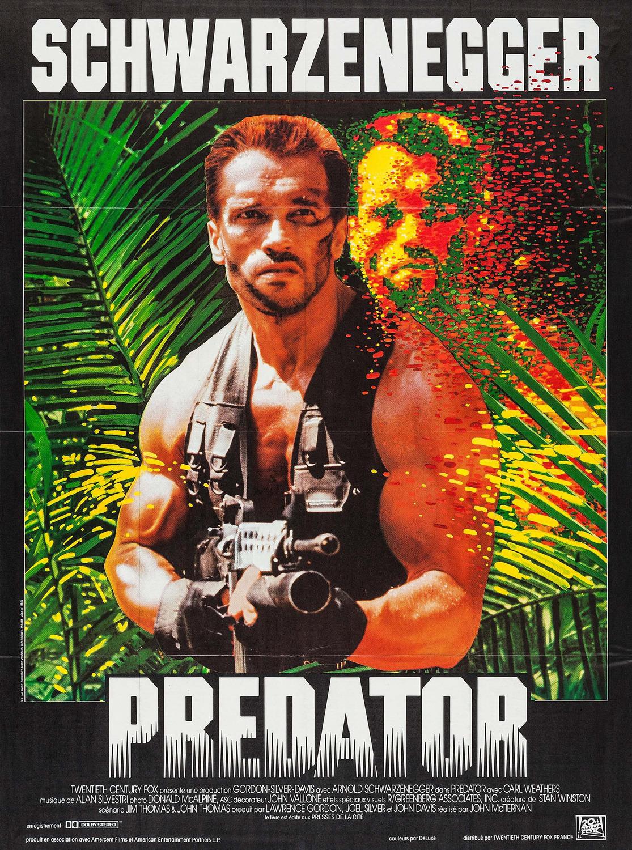 affiche poster predator disney fox
