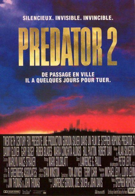 affiche poster predator 2 disney fox