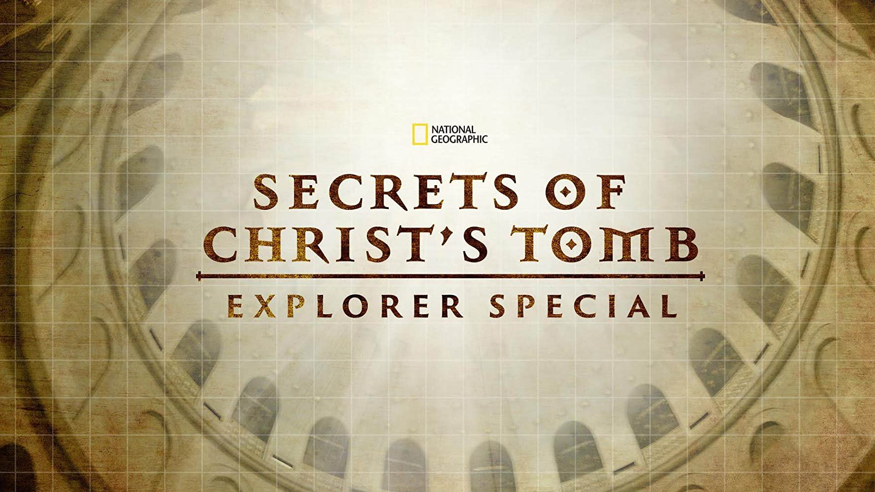 affiche poster secrets tombeau tomb christ disney nat geo