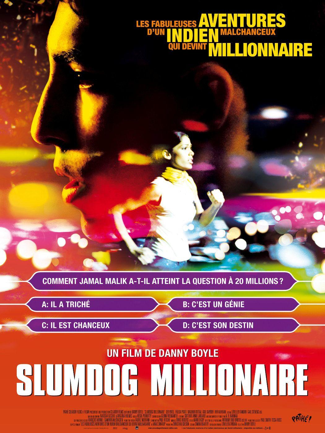 affiche poster slumdog millionaire disney fox