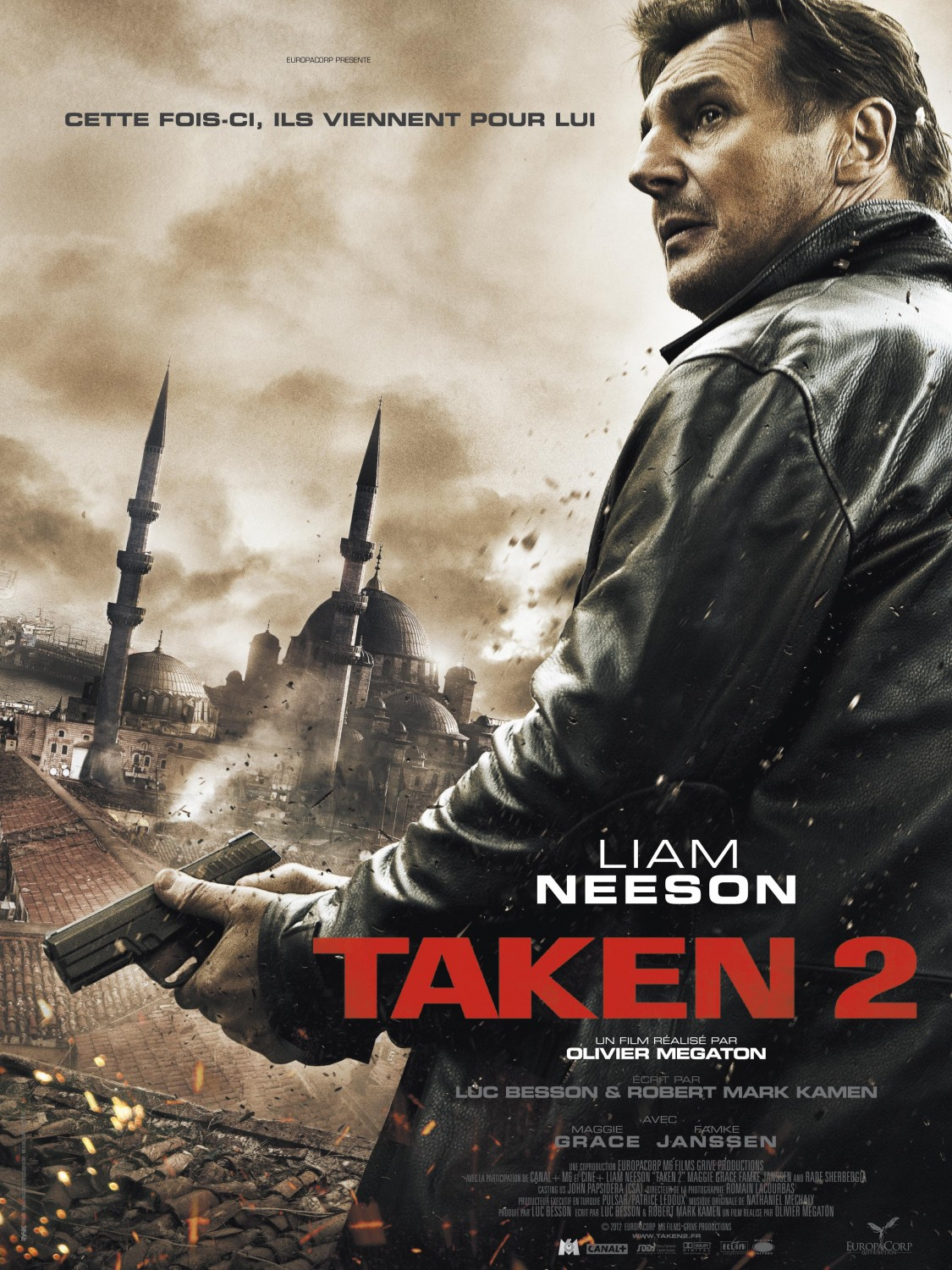 affiche poster taken 2 disney fox