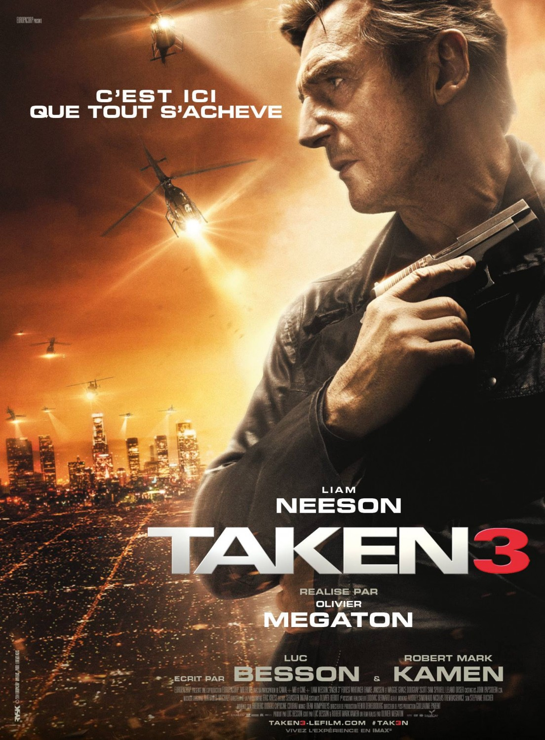 affiche poster taken 3 disney fox