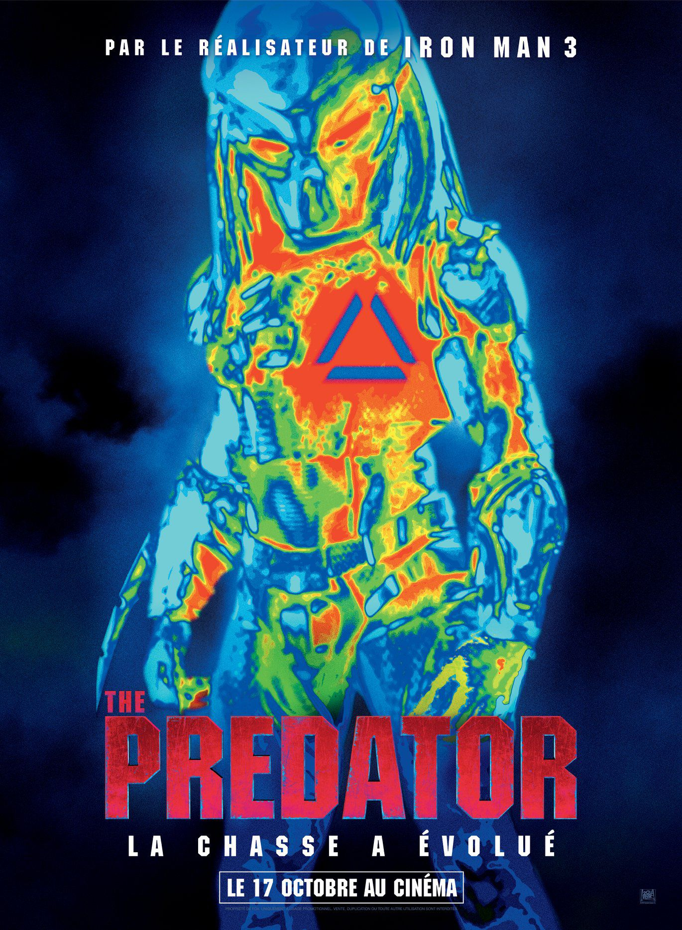 affiche poster the predator disney fox