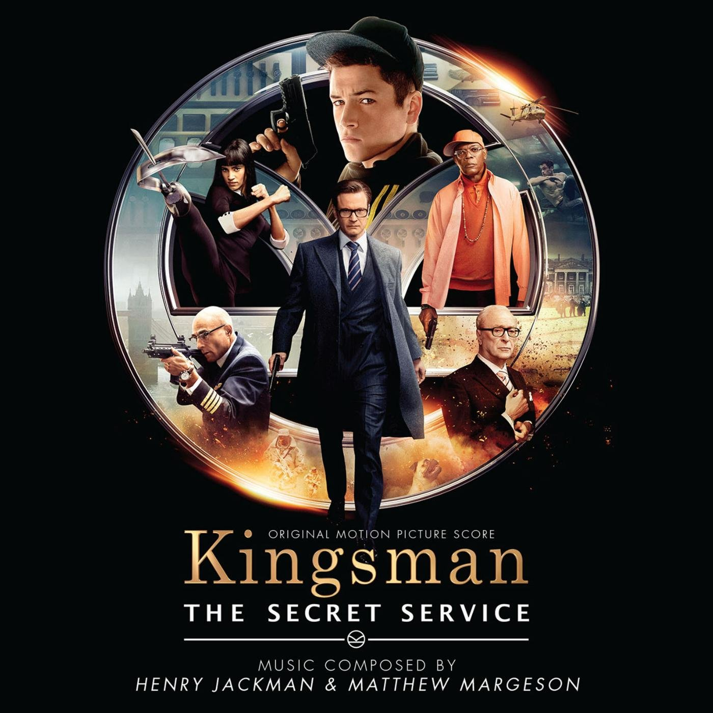 bande originale soundtrack ost score kingsman services secrets disney fox