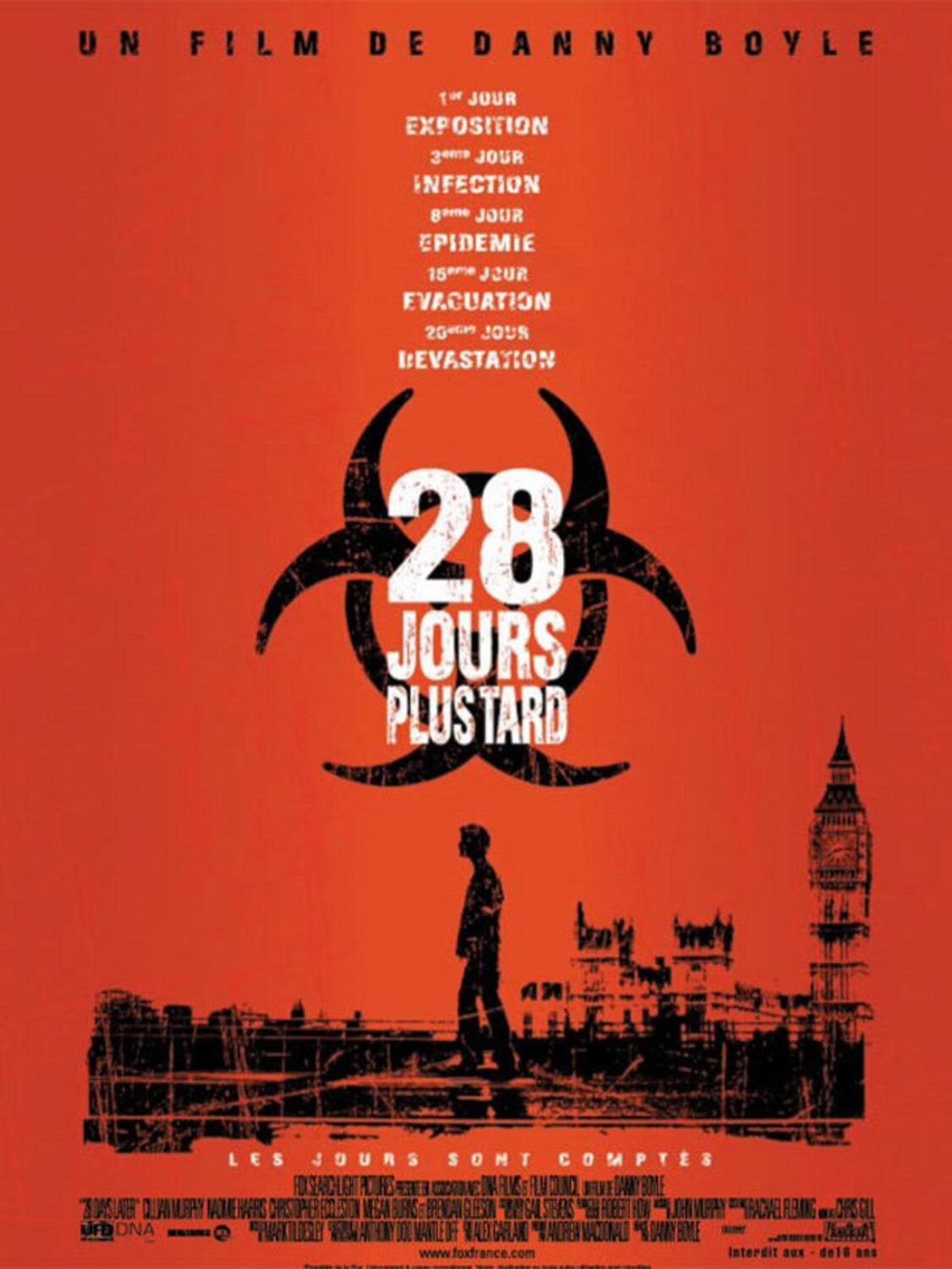 affiche poster 28 jours plus tard days later disney fox