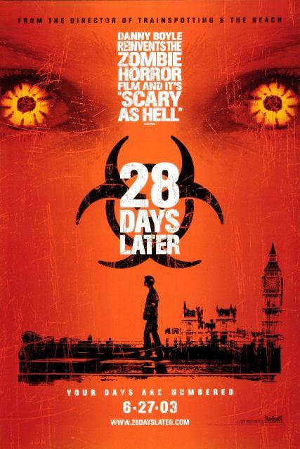 affiche poster 28 jours plus tard days later disney fox