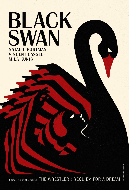 affiche poster black swan disney fox