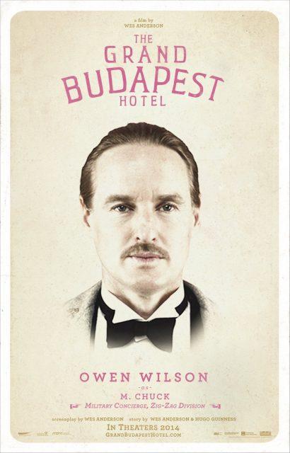 affiche poster grand budapest hotel disney fox