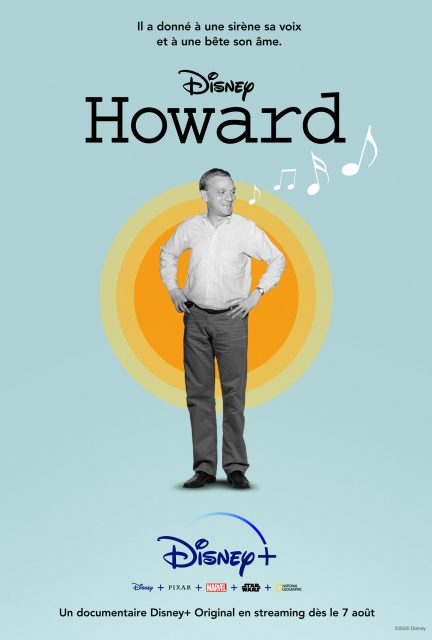 affiche poster howard disney