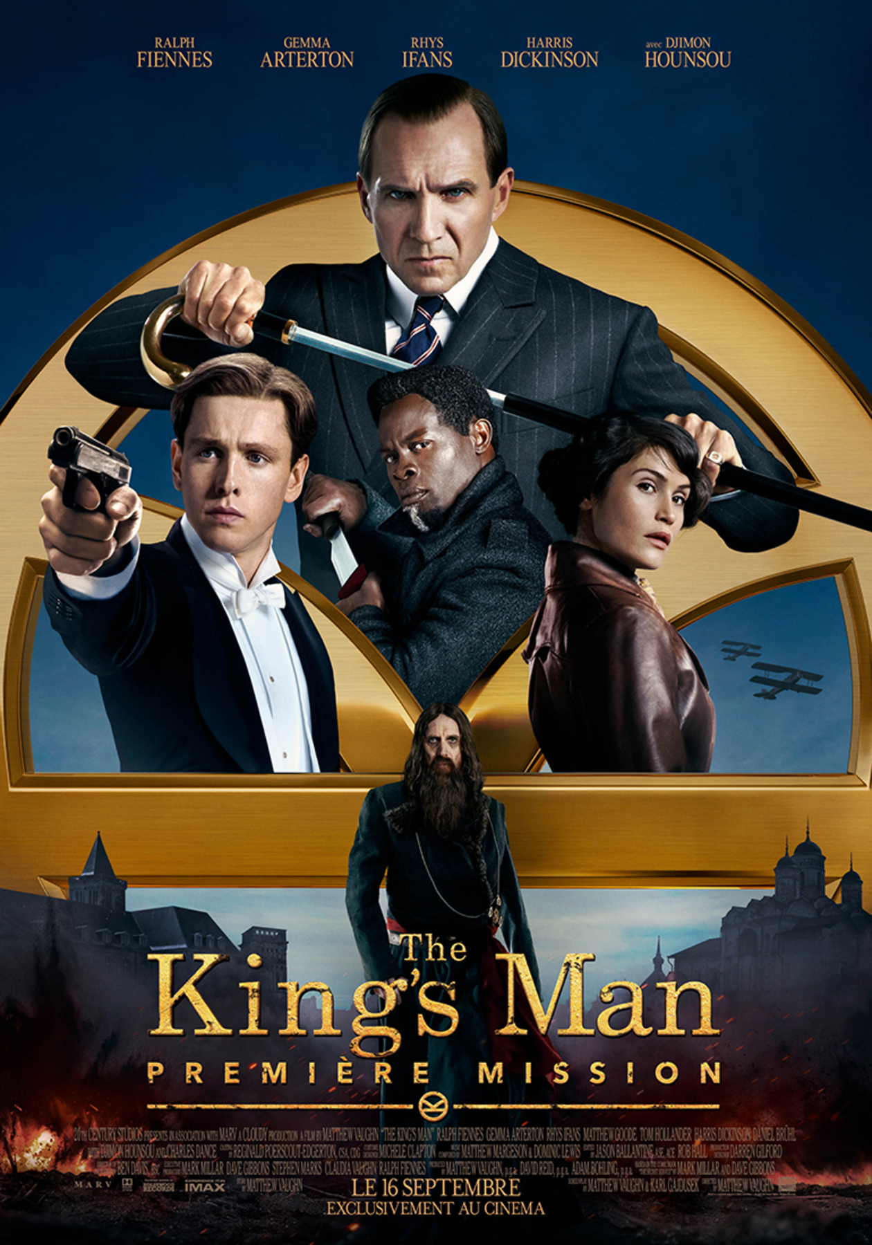 affiche poster king man premiere mission disney fox