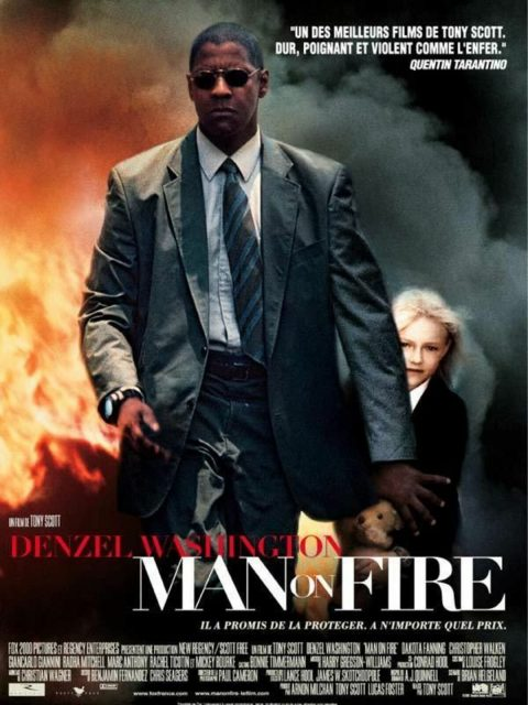 affiche poster man fire disney fox