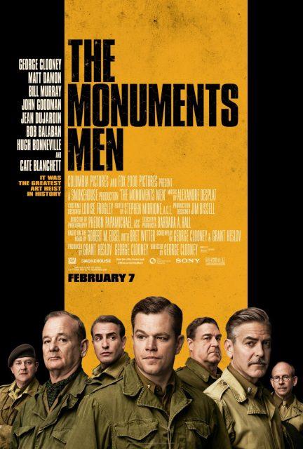 affiche poster monuments men disney fox