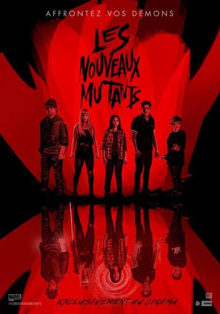 affiche poster nouveau new mutant disney fox