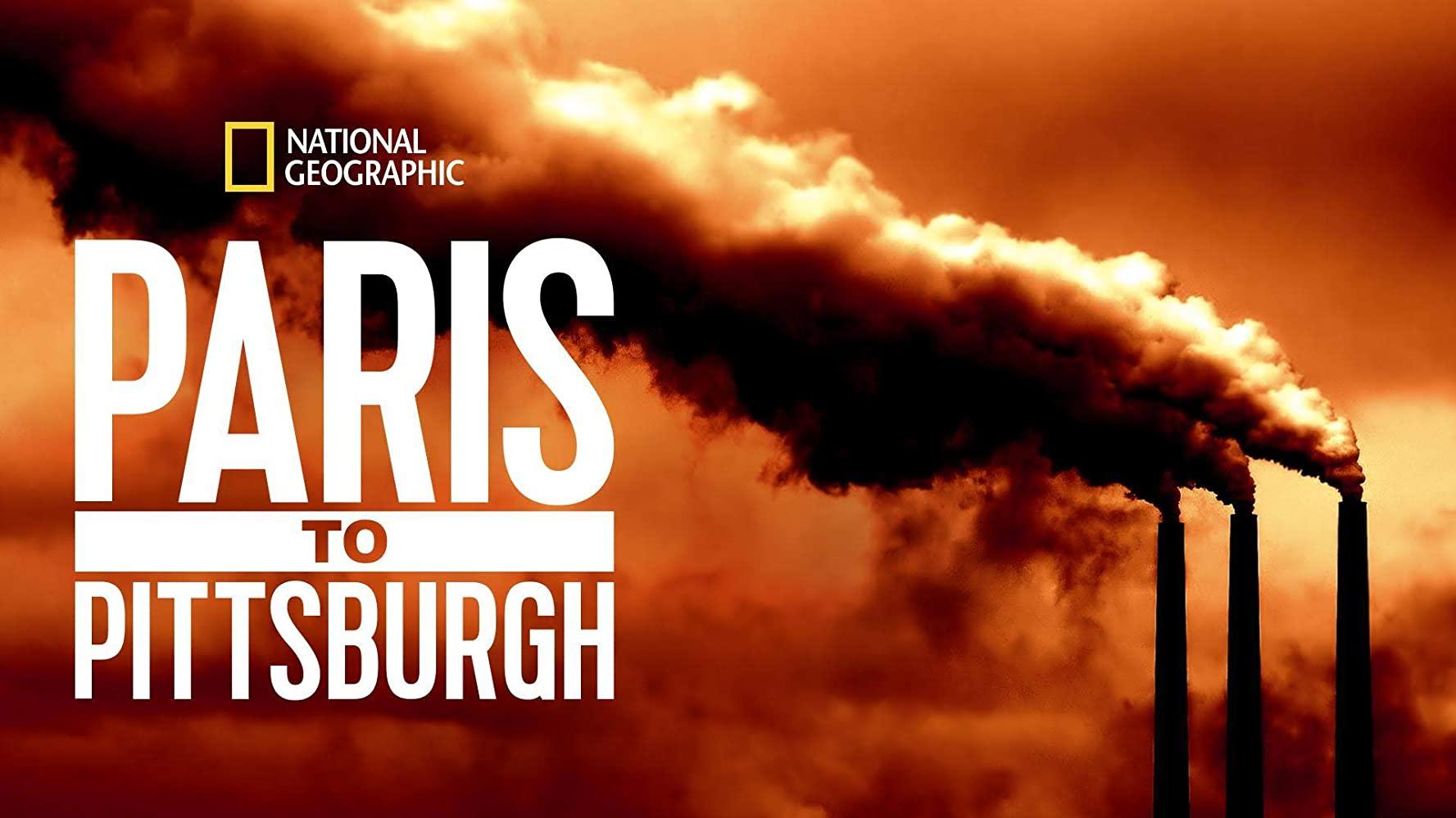 affiche poster paris pittsburgh lutte climat disney nat geo