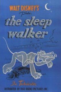 affiche poster pluto somnambule sleepwalker disney