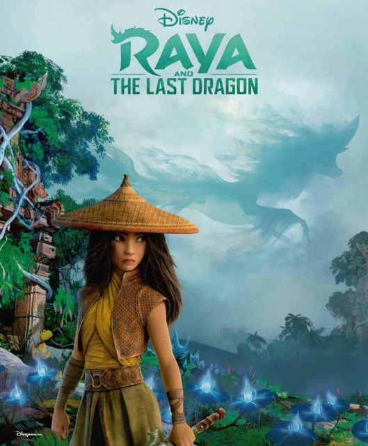 affiche poster raya last dragon disney