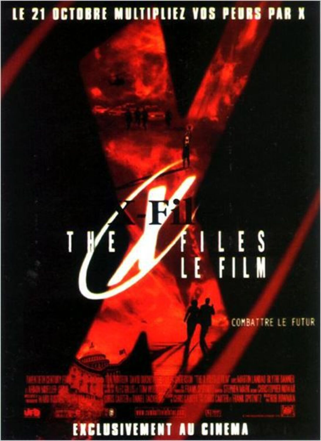 affiche poster x-files combattre fight futur disney fox