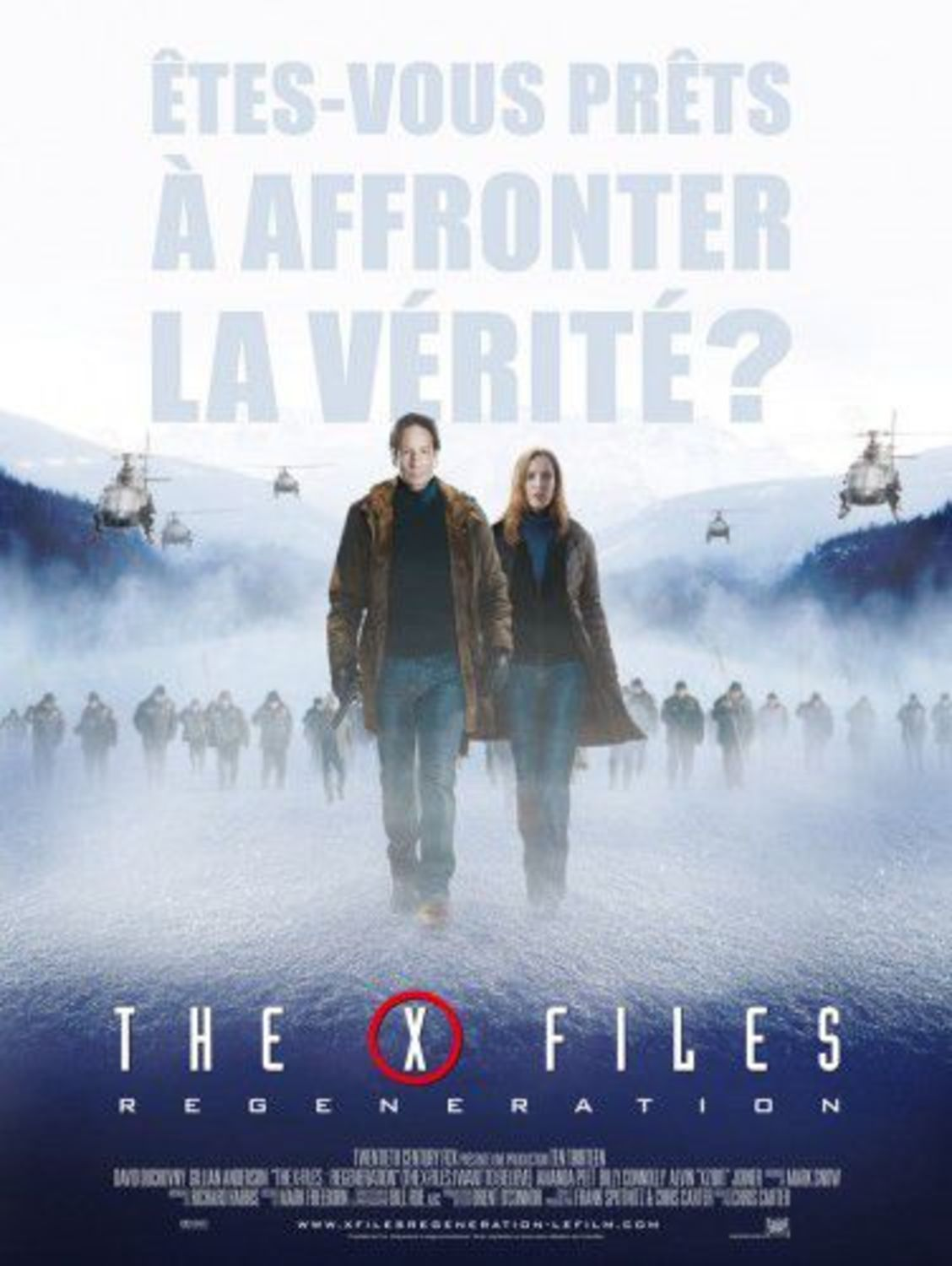 affiche poster x-files regeneration want believe disney fox