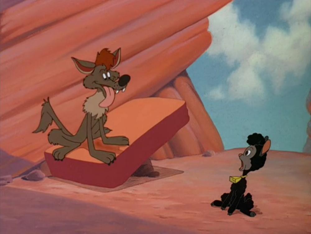 image légende rocher coyote rock disney pluto
