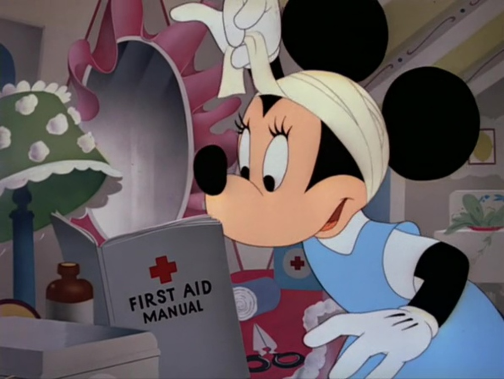 image premiers secours first aiders disney