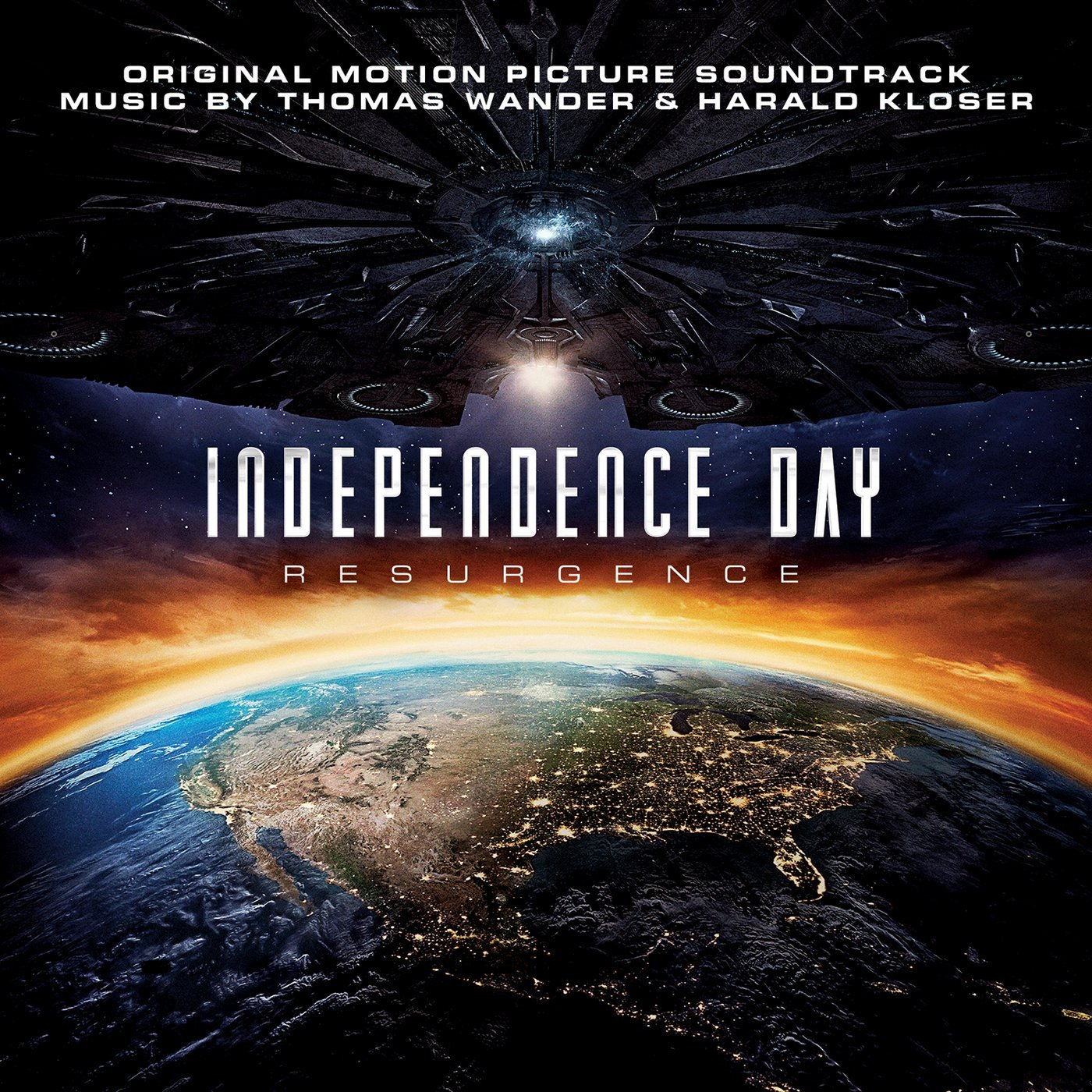 bande originale soundtrack ost score independence day resurgence disney fox