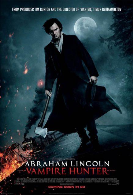 affiche poster abraham lincoln chasseur vampires hunter disney fox