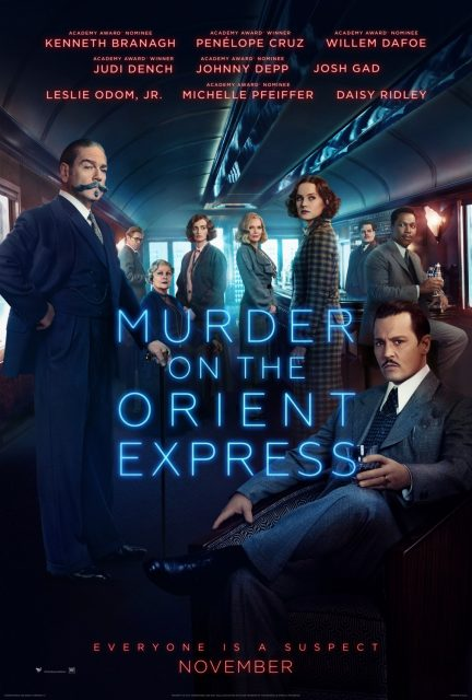 affiche poster crime murder orient express disney fox