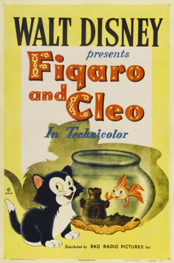 affiche poster figaro cleo disney