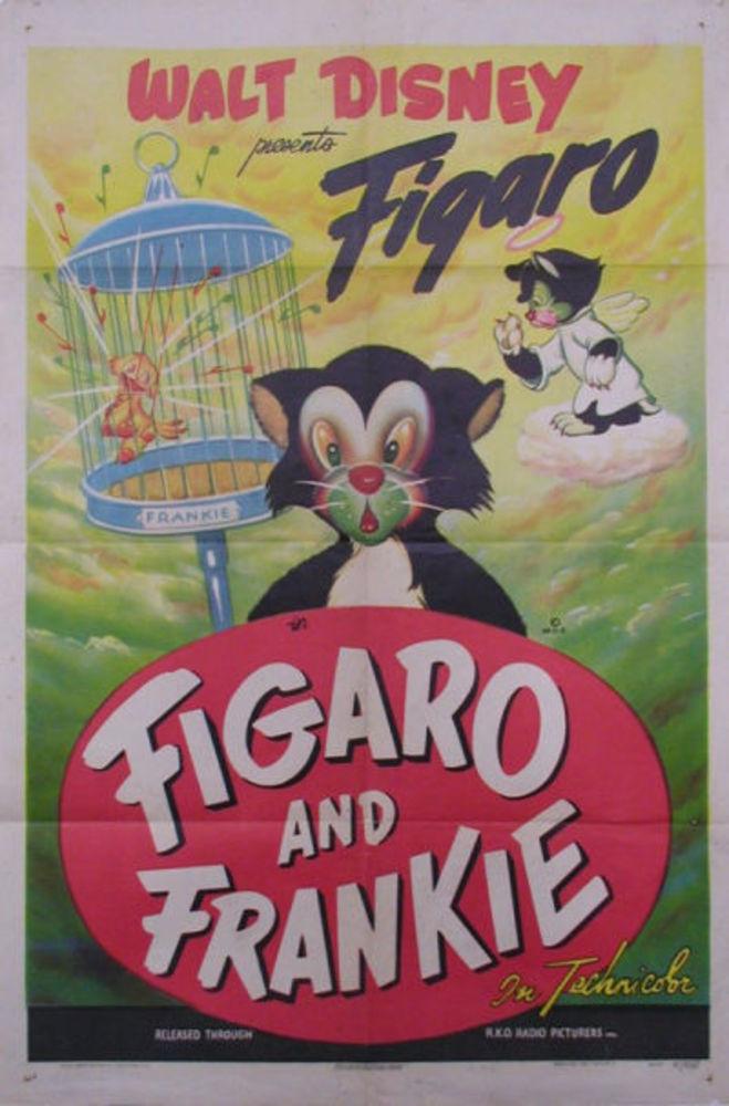 affiche poster figaro frankie disney