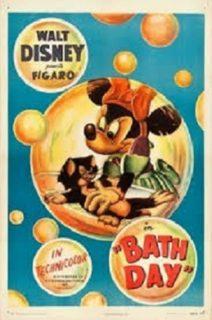 affiche poster gai baignons nous bath day disney figaro