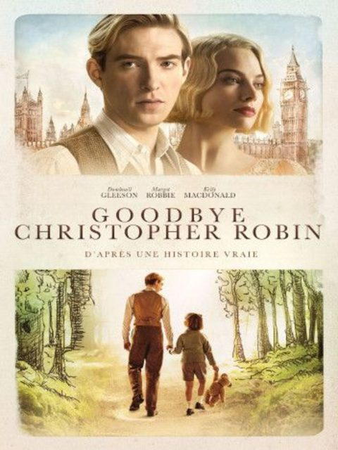 affiche poster goodbye christopher robin disney fox