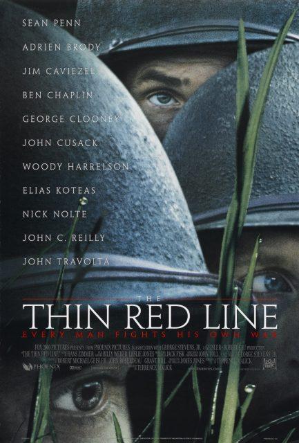 affiche poster ligne rouge thin red line disney fox