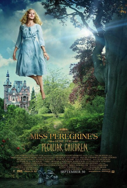 affiche poster miss peregrine enfants particuliers home peculiar children disney fox