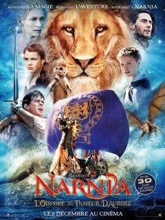 affiche poster chronicles monde narnia odysee passeur aurore Voyage Dawn Treader